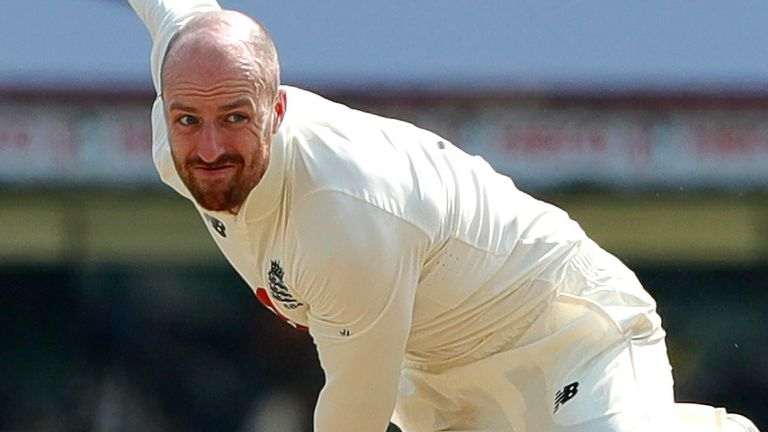 Jack Leach says England will not use the pitch as an excuse after defeat in the second Test (Pic credit: BCCI)