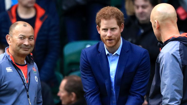 Prince Harry: The Duke of Sussex leaves the roles of boss of the RFU and the Rugby Football League |  Rugby news