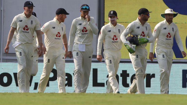 England need nine wickets on day five to wrap up the first Test (Pic credit - BCCI)