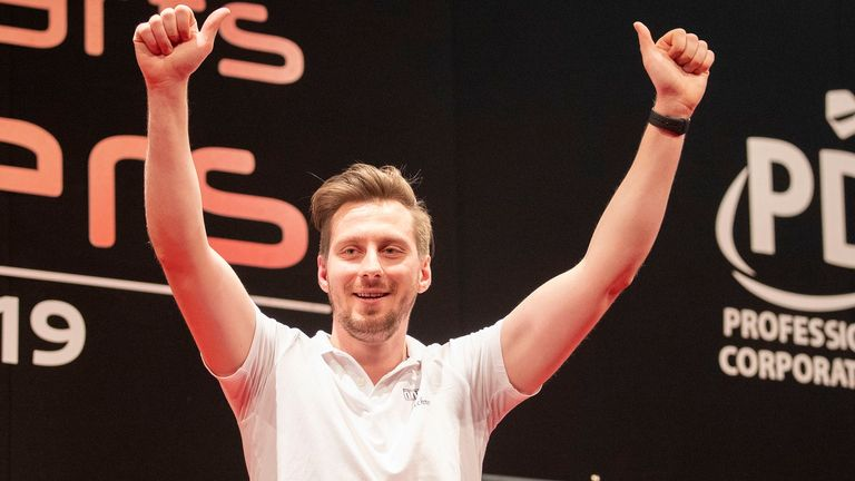 Florian Hempel came out on top in Germany