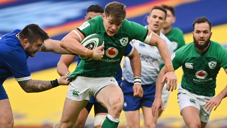 Ireland face Italy in Rome on Saturday