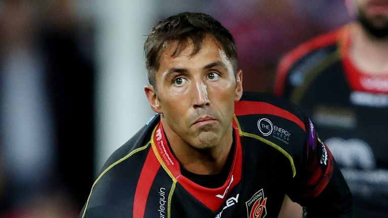 Gavin Henson most recently played for Dragons before being released at the end of the 2018-19 season