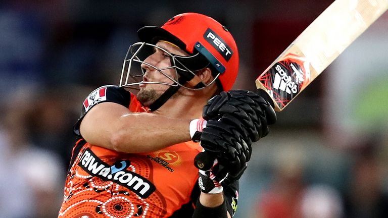 Liam Livingstone smashed 77 from 39 balls to help Perth Scorchers reached the Big Bash final