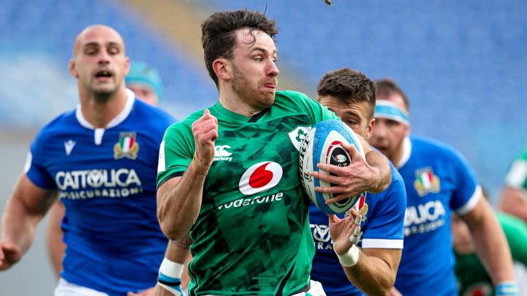 Hugo Keenan was an ever-present at full-back for Ireland during the Six Nations