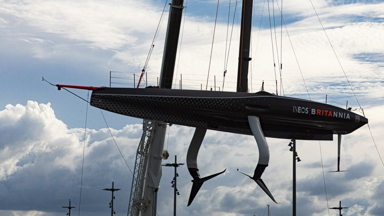 INEOS TEAM UK's race boat BRITANNIA is a remarkable feat of engineering (Image Credit: COR 36 | Studio Borlenghi)