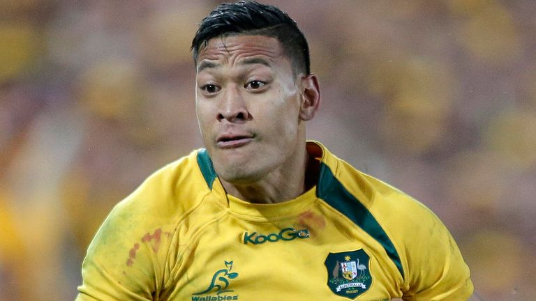 Folau was sacked by Rugby Australia in 2019