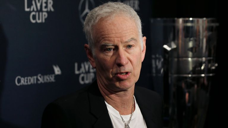 John McEnroe says fifth sets should be replaced by tie-breaks at all Grand Slams