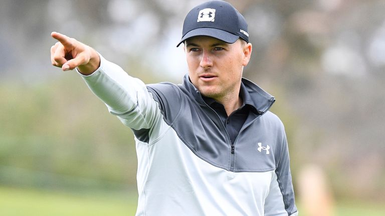 Jordan Spieth's game is heading back in the right direction after some encouraging performances on the West Coast Swing