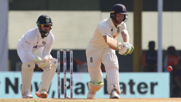 Jos Buttler, who played in the first Test against India, is being rested for the remainder of the series, but could then feature in all England's white-ball internationals ahead of the IPL. Pic: BCCI