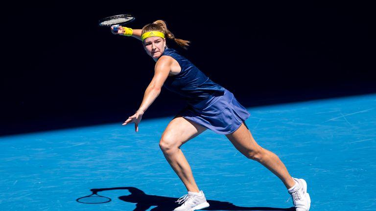 Karolina Muchova has now beaten Karolina Pliskova, Elise Mertens and Ash Brady during her 2021 Australian Open campaign