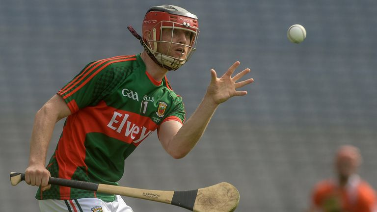 Higgins and Mayo are hoping to win promotion to the Christy Ring Cup