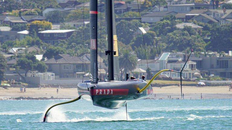 AC75s have pushed the sport of sailing to new heights (Image - COR 36 | Studio Borlenghi)