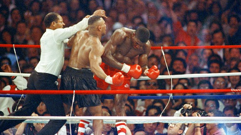 Tyson and Bruno's rivalry was part of a thrilling 90s heavyweight scene