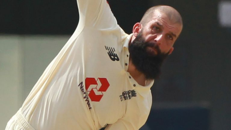 Moeen Ali has opted to leave the bio-secure bubble and return home (pic credit - BCCI)