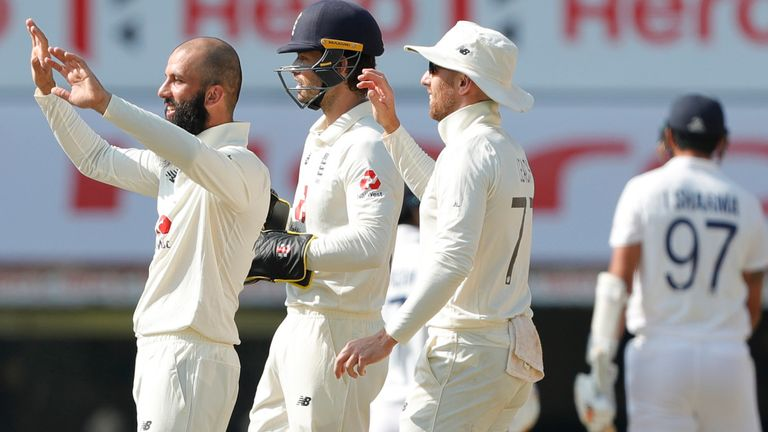 England conceded no extras during India's first innings of 329 in the second Test (Pic credit - BCCI)