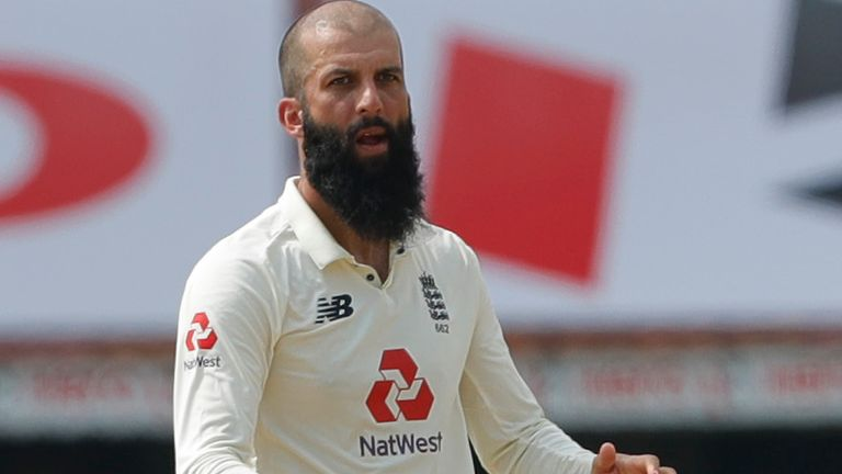 Moeen will return to India for the five-match T20I series in March (Pic credit - BCCI)