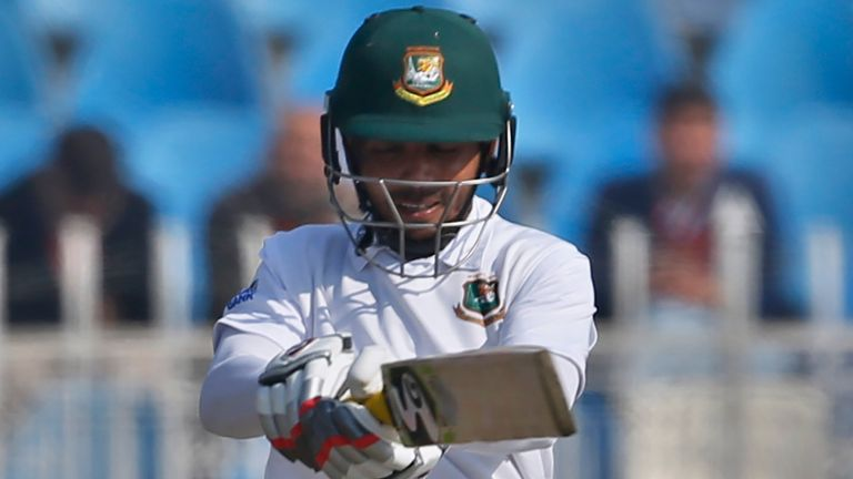 Captain Mominul Haque scored a record 10th Test hundred for Bangladesh