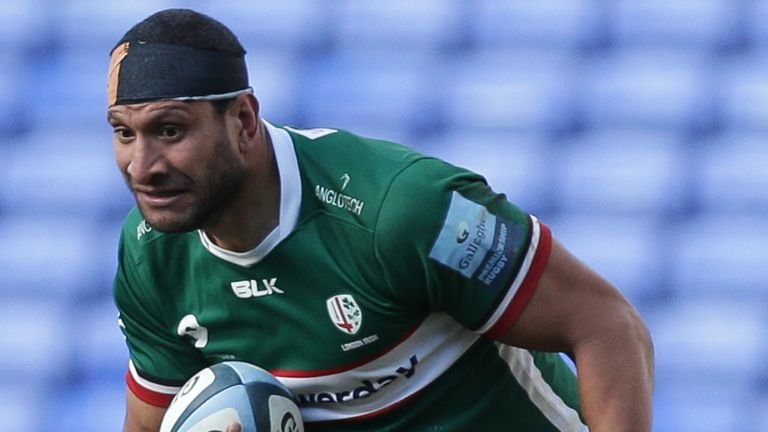London Irish hooker Motu Matu'u will miss the Premiership fixtures against Bristol, Wasps, Leicester, Worcester, Sale and Bath