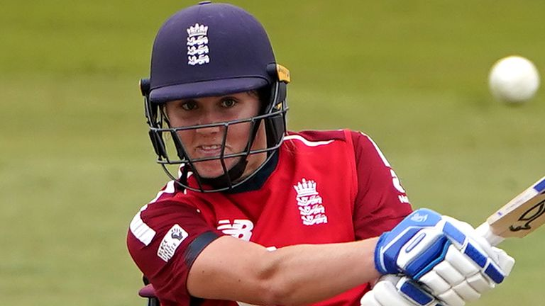 Nat Sciver was part of England's World Cup-winning side in 2017 on home soil