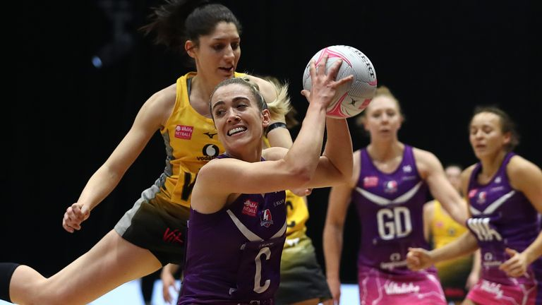Loughborough Lightning and Wasps Netball renewed their intense rivalry in their first meeting of the 2021 season