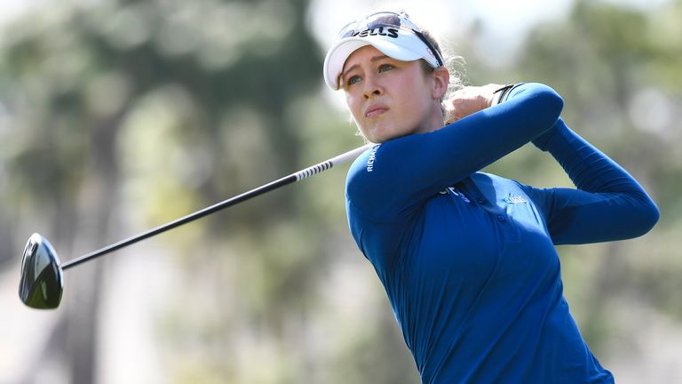 Nelly Korda has carded rounds of 67, 68 and 68 so far at Lake Nona