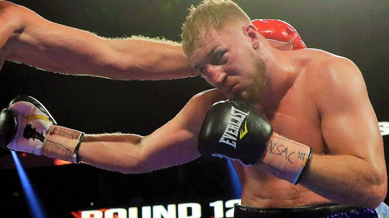 Otto Wallin produced a career-best win over Dominic Breazeale