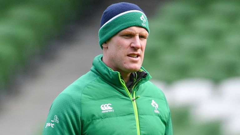Ireland forwards coach Paul O'Connell spoke to media on Tuesday ahead of the Six Nations this weekend