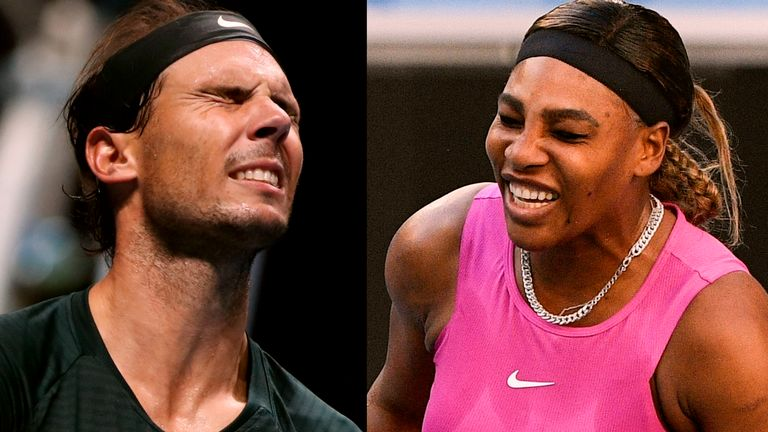 Will it be agony or ecstasy for Rafael Nadal and Serena Williams in Melbourne?