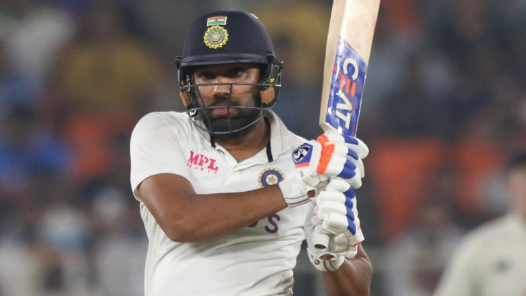 Rohit Sharma scored 66 in India's first innings and 25 not out in their second (Pic credit - BCCI)