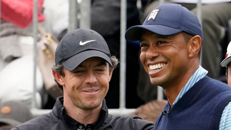 Rory McIlroy has been exchanging messages with Woods since his accident