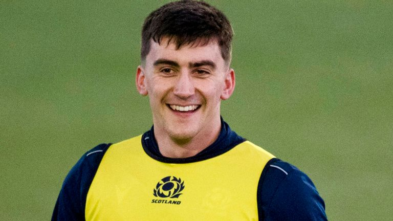 Up against Lawrence will be Bath's Cameron Redpath at 12 for Scotland - who was called up to an England squad in 2018