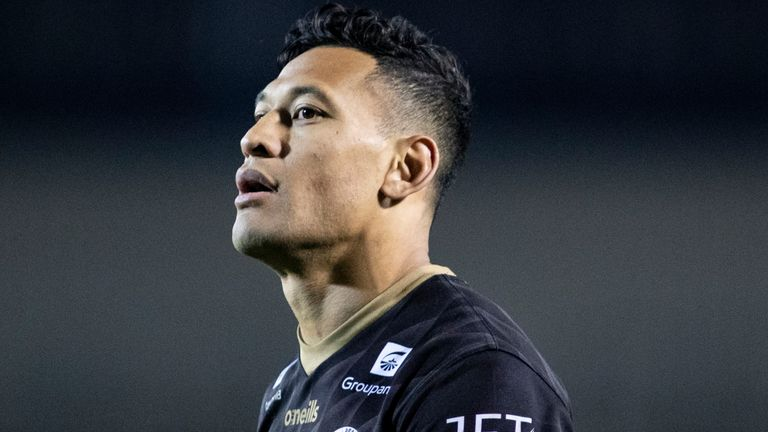 Israel Folau last played in the NRL in 2010