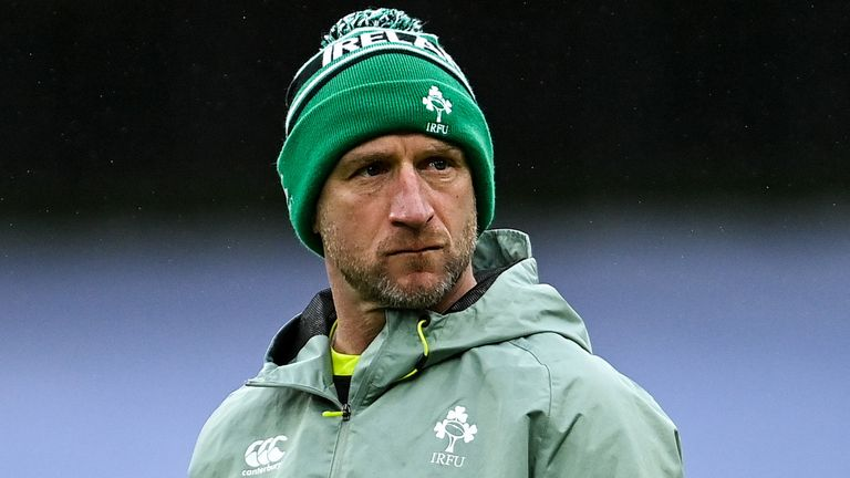 Mike Catt says Ireland are creating plenty of chances but need to more clinical