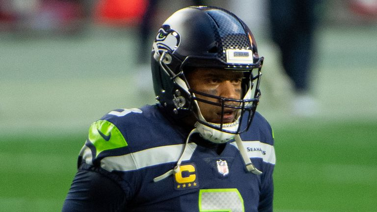 Wilson's Seahawks have not advanced past the divisional round of the playoffs since 2014 after reaching back-to-back Super Bowls