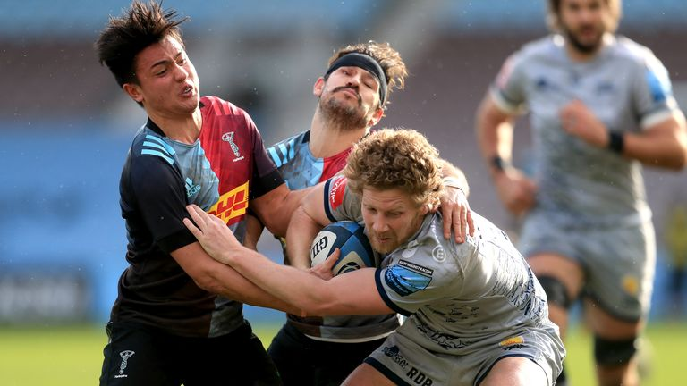 Harlequins proved too strong for Sale in Saturday's opening Premiership game