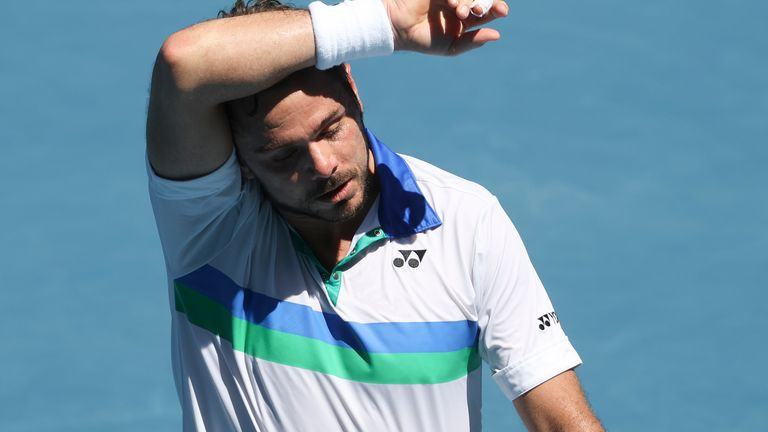 The Swiss suffered a second-round exit in February's Australian Open - his last Grand Slam appearance