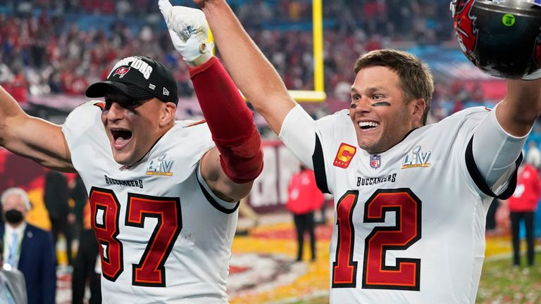 Highlights of the Tampa Bay Buccaneers' victory over the Kansas City Chiefs in Super Bowl LV