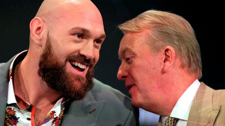 Frank Warren expects Fury to receive the go ahead to face Joshua