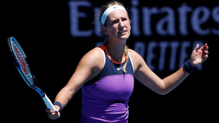 Victoria Azarenka, who won the Australian Open in 2012 and 2013, was one of over 70 players who were forced into hard quarantine after arriving in Australia