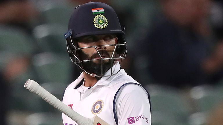Virat Kohli says batting is easier earlier on against the pink ball