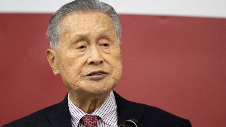 Yoshiro Mori resigned as president last week after making sexist remarks about women