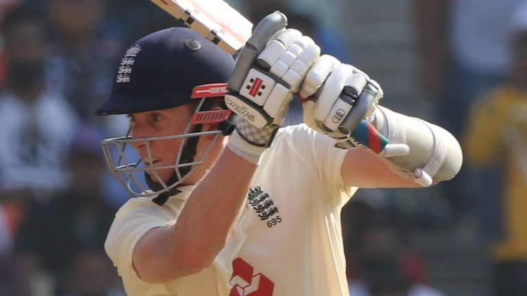 Nasser Hussain says Zak Crawley's first-innings fifty was a real positive for England (Pic credit - BCCI)