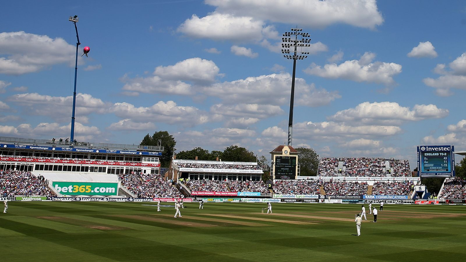 England vs New Zealand: Edgbaston in talks with Government over increased crowds for June Test