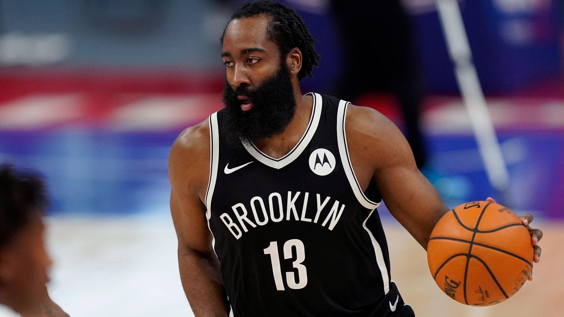 Harden hits 44 points as Nets hold off Pistons