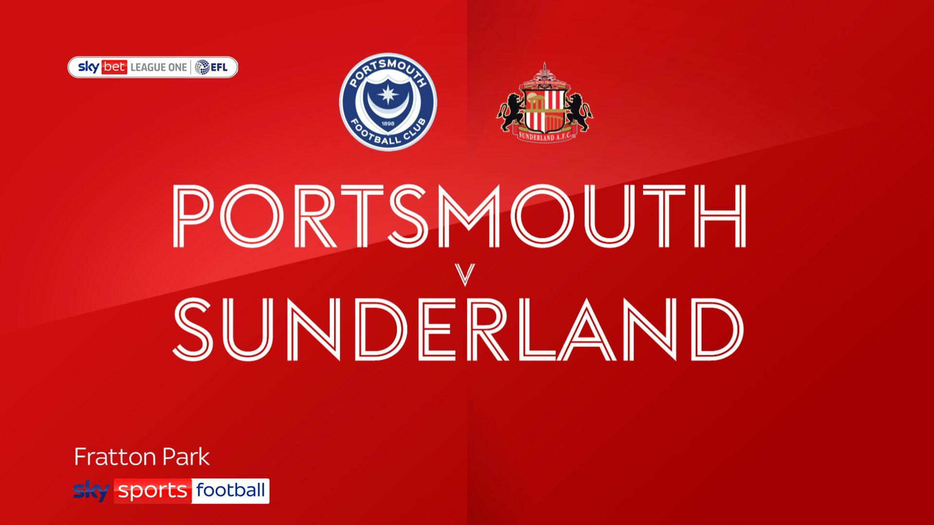 Wyke on target as Sunderland sink Portsmouth