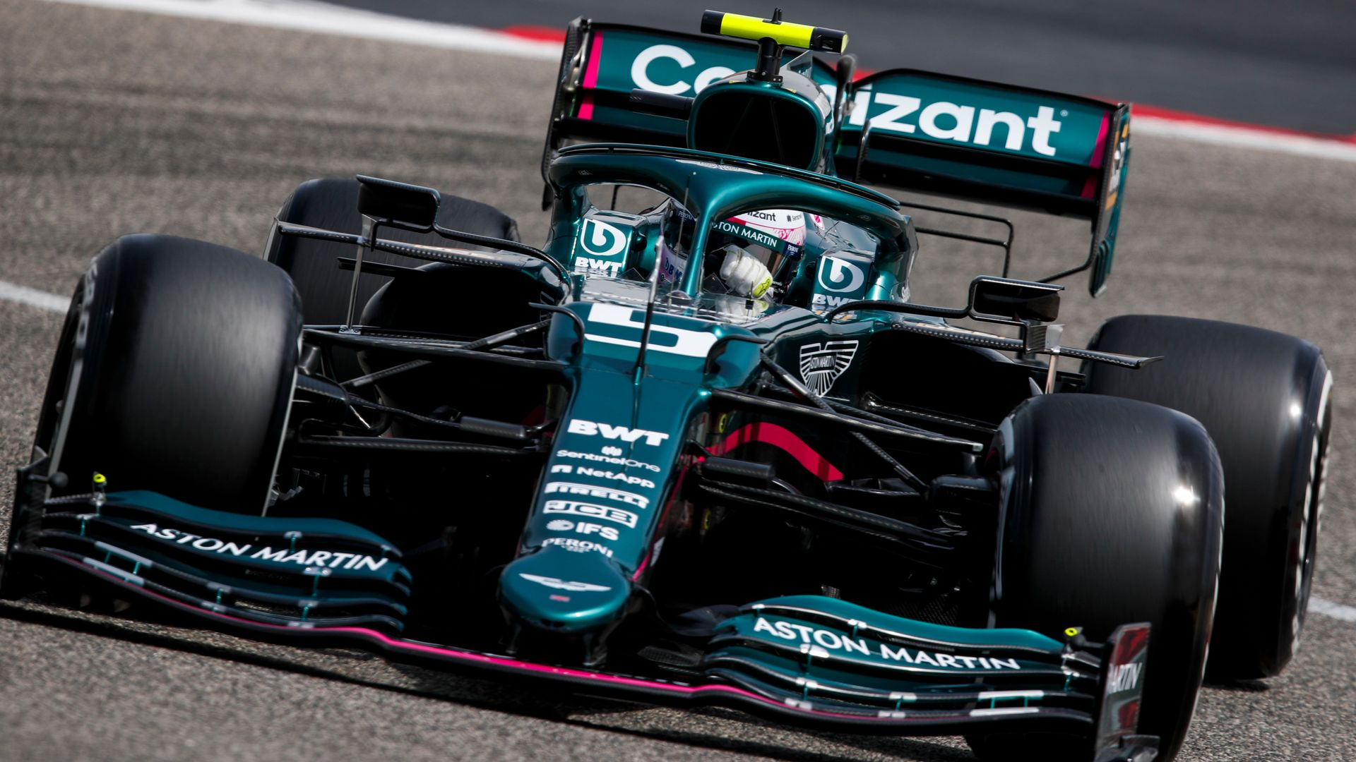 Mercedes, Aston Martin bottom of Testing mileage chart