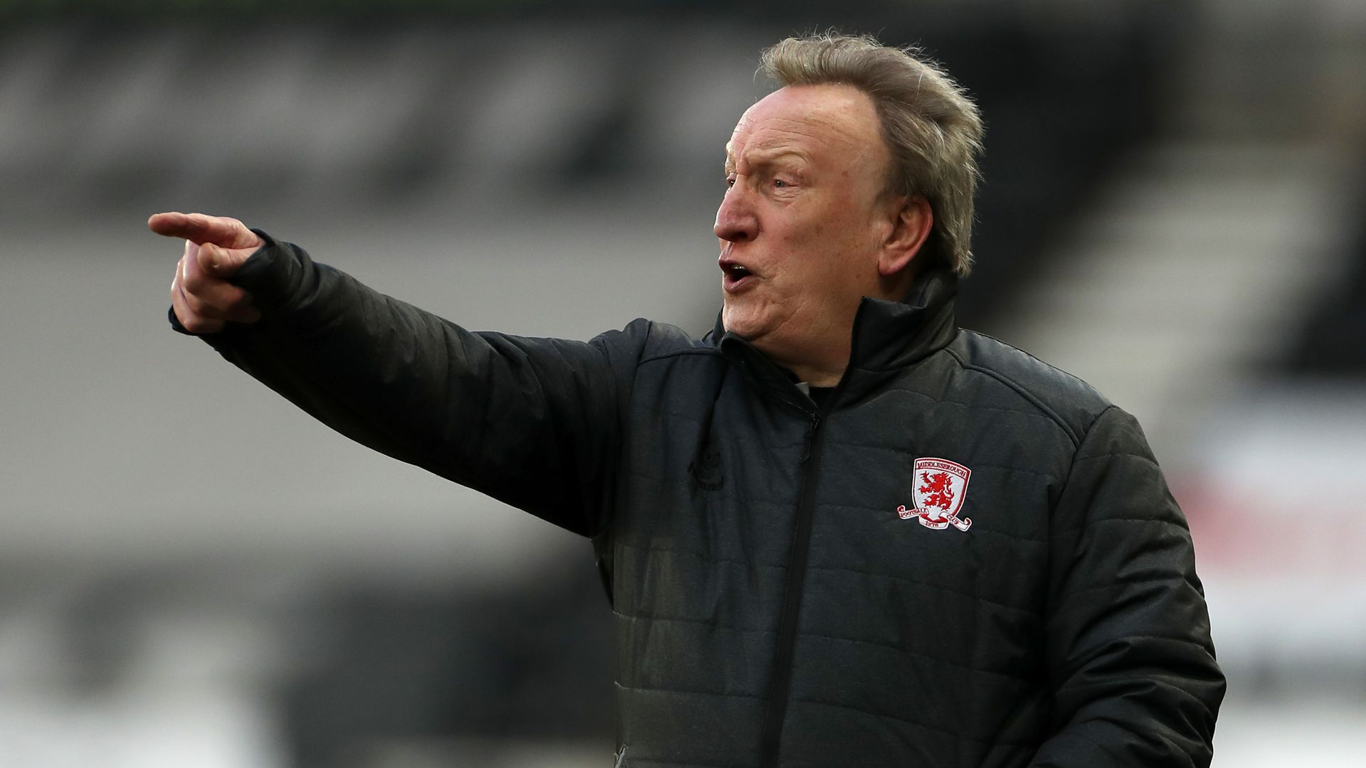 Warnock laughs off comment about Cooper's father