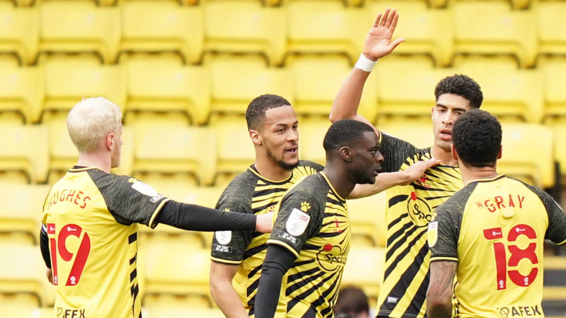 Watford edge Forest to climb to second