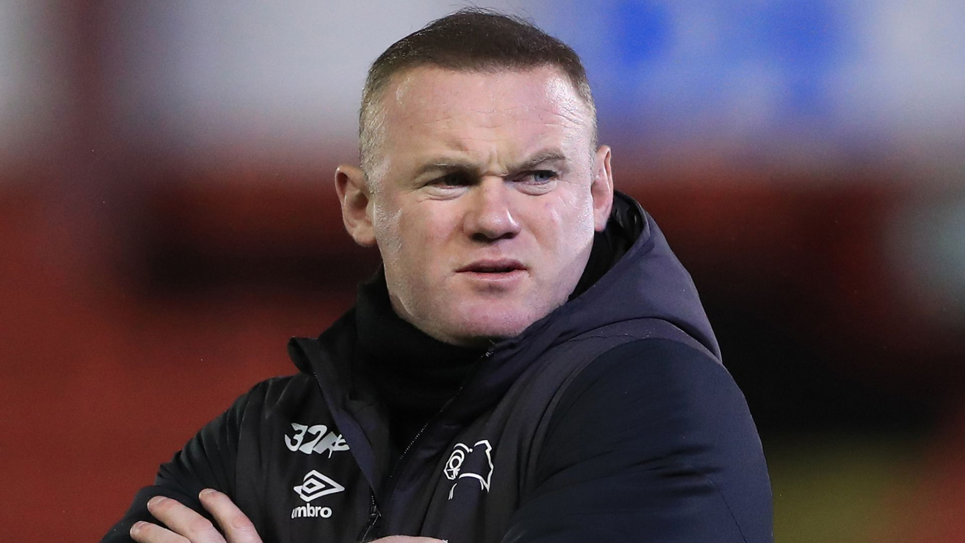 Rooney injures Knight, Derby down to eight senior players