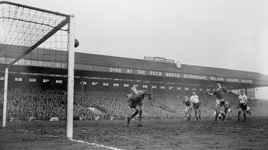 Bolton in action at Burnden Park in 1959